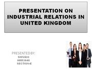 presentation on industrial relations