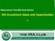 ira investments and opportunities