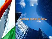 MUTUAL FUNDS IN INDIA2003 MODIFIED