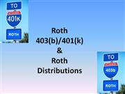 Roth - Qualified Distributions