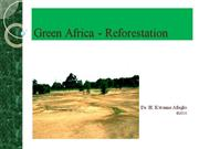 Green Africa - Reforestation