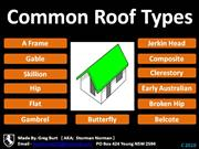Common Roof Types