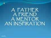 a friend, a brother, a mentor