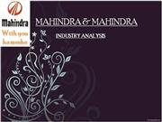 MAHINDRA & MAHINDRA