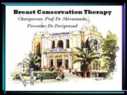 Breast Conservation Therapy