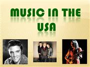 MUSIC IN THE USA