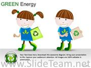 GAME PIECES GREEN ENERGY POWERPOINT SLIDES
