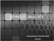 REYNOLD ANALOGY 2