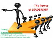 The Power of LEADERSHIP versi 2003(2)