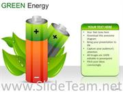 CYLINDERS GREEN ENERGY POWERPOINT SLIDES