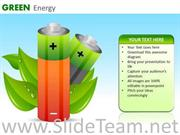GREEN ENERGY RECHARGEABLE BATTERIES PPT SLIDES