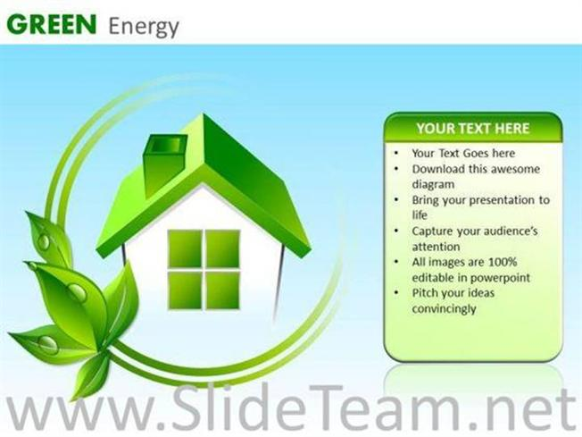 Green house energy efficient ppt slides powerpoint diagram related powerpoint templates toneelgroepblik Choice Image