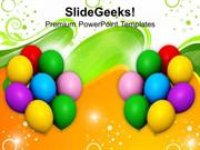 PARTY BALLOONS EVENTS POWERPOINT TEMPLATE 1