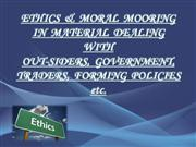 ethics in material