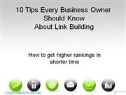 Top Linking Tips for Business Owners by Kyle Craig