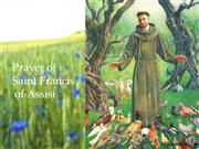 Prayer to St. Francis Enhanced Podcast