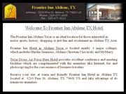 Hotels near Abilene Race Track