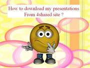 TIPS to download my presentations