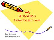 HIV Home based care