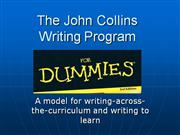 Collins Writing Program