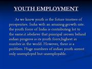 YOUTH EMPLOYMENT-ppt.