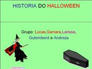 HISTORIA DO HALLOWEEN