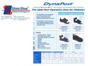 DynaPost Post Operative Shoes From Shimi-Shoe