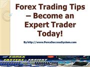 Forex Trading Tips – Become an Expert Trader Today