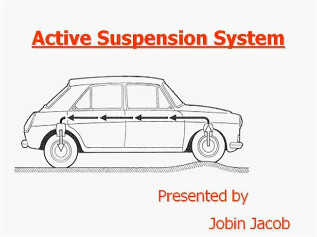 Suspension of vehicle ppt