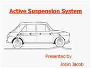 Active Suspension System