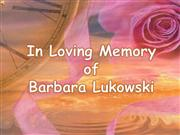 barbara tribute