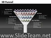 FUNNEL DIAGRAM GRAPHIC FOR POWERPOINT SLIDES
