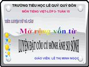TV Dat cau co hinh anh