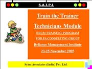Train the Trainer -bkpIV