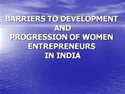 WOMEN ENTREPRENEURS OF INDIA final