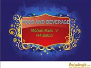 Food and Beverage - Ram