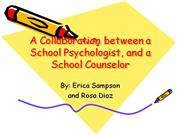 collab between counselor