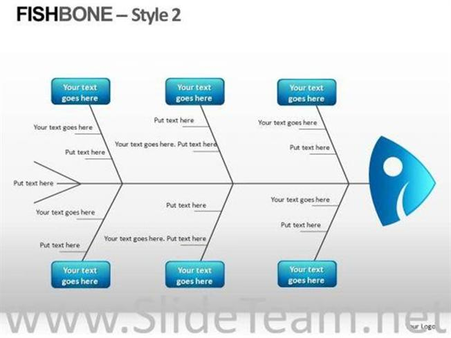 editable fishbone diagram powerpoint slides-powerpoint diagram, Modern powerpoint