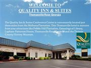 Quality Inn & Suites Hotel near Thomasville Rose Gardens