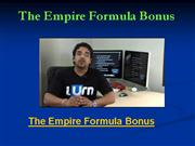 the empire formula bonus - exclusive $1997 the empire formula bonus