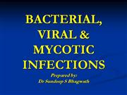 infectious diseases  in oral pathology
