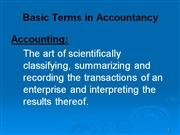 2[1]. Basic Terms in Accountancy - 1