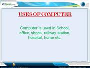 computer's use