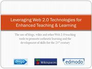 web 2.0 technologies & digital education