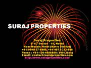 New Projects on Expressway | Noida Commercial | Suraj Properties |
