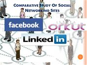 comparative study of social networking sites