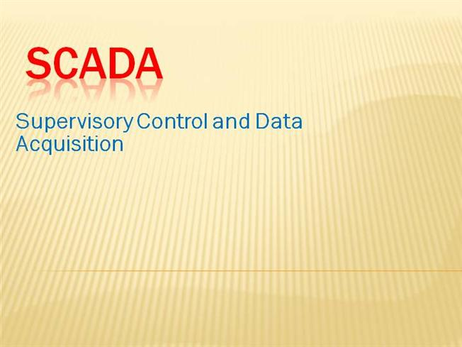 Ppt on plc scada youtube.