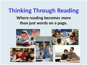 thinking through reading