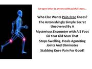 No More Knee Pain - An open letter to anyone with painful knees- Elimi