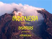 Indonesian Disasters - October 2010